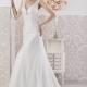 Precioso vestido Miami de Si Quiero Bilabo de corte sirena confeccionado con un espectacular encaje, escote corazón y espalda semitransparente en V